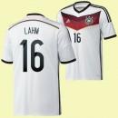 Maillot Allemagne (Lahm 16) 2014 World Cup Domicile Adidas Vente Privee