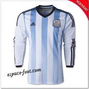 Maillot Argentine 2014/15 Manche Longue Domicile
