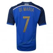 Maillot Argentine 2014 Coupe Du Monde Di Maria Exterieur