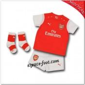 Maillot Arsenal Fc Domicile 2014 2015 Enfant Trousse Pas Cher Nice