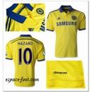 Maillot Chelsea Hazard 2014 2015 Extérieur Vente Privee