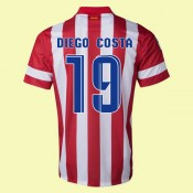 Maillot De Atletico Madrid (Diego Costa 19) 2014-2015 Domicile Collection