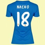 Maillot De Femme Real Madrid (Nacho 18) 2015/16 Extérieur Adidas Avec Flocage