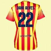 Maillot De Femmes Barcelone (Dani Alves 22) 2014-2015 Extérieur Nike Boutique En Ligne