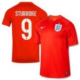 Maillot De Foot 2014/2015 Angleterre Exterieur Coupe Du Monde (9 Sturridge)