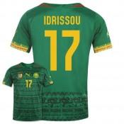 Maillot De Foot 2014/2015 Cameroun Domicile Coupe Du Monde (17 Idrissou) Faire Une Remise