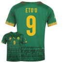 Maillot De Foot 2014/2015 Cameroun Domicile Coupe Du Monde (9 Eto'O) Escompte