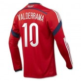Maillot De Foot 2014/2015 Colombie Exterieur Manche Longue Coupe Du Monde (10 Valderrama) France Site Officiel