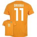 Maillot De Foot 2014/2015 Cote D'Ivoire Domicile Coupe Du Monde (11 Drogba) France Site Officiel