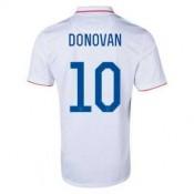 Maillot De Foot 2014/2015 Etats-Unis Domicile Coupe Du Monde (10 Donovan)