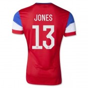 Maillot De Foot 2014/2015 Etats-Unis Exterieur Coupe Du Monde (13 Jones)