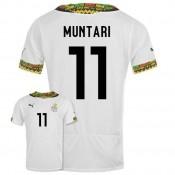 Maillot De Foot 2014/2015 Ghana Domicile Coupe Du Monde (11 Muntari)