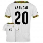 Maillot De Foot 2014/2015 Ghana Domicile Coupe Du Monde (20 Asamoah)