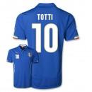 Maillot De Foot 2014/2015 Italie Domicile Coupe Du Monde (10 Totti)
