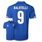 Maillot De Foot 2014/2015 Italie Domicile Coupe Du Monde (9 Balotelli)