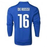 Maillot De Foot 2014/2015 Italie Domicile Manche Longue Coupe Du Monde (16 Derossi)
