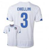Maillot De Foot 2014/2015 Italie Exterieur Coupe Du Monde (3 Chiellini)