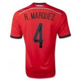 Maillot De Foot 2014/2015 Mexique Exterieur Coupe Du Monde (4 R.Marquez)