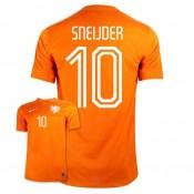 Maillot De Foot 2014/2015 Pays-Bas Domicile Coupe Du Monde (10 Sneijder) Hot Sale
