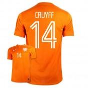 Maillot De Foot 2014/2015 Pays-Bas Domicile Coupe Du Monde (14 Cruyff) Pas Cher Paris