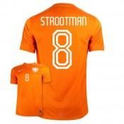 Maillot De Foot 2014/2015 Pays-Bas Domicile Coupe Du Monde (8 Strootman) Europe