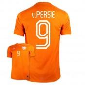 Maillot De Foot 2014/2015 Pays-Bas Domicile Coupe Du Monde (9 V.Persie) Code Promo