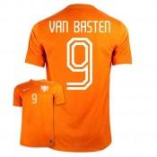 Maillot De Foot 2014/2015 Pays-Bas Domicile Coupe Du Monde (9 Van Basten) France Magasin