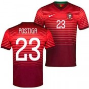 Maillot De Foot 2014/2015 Portugal Domicile Coupe Du Monde (23 Postiga) Paris