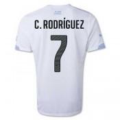 Maillot De Foot 2014/2015 Uruguay Exterieur Coupe Du Monde (7 C.Rodriguez) Vente En Ligne