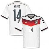 Maillot De Foot Allemagne Domicile Coupe Du Monde 2014 (14 Kruse)