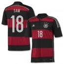 Maillot De Foot Allemagne Exterieur Coupe Du Monde 2014 (18 Sam)