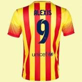 Maillot De Foot Barcelone (Alexis Sanchez 9) 2014-2015 Extérieur Nike Provence