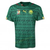 Maillot De Foot Cameroun 2014 Coupe Du Monde Domicile Achat À Prix Bas