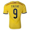 Maillot De Foot Colombie Domicile Coupe Du Monde 2014 (9 Falcao) Paris