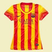 Maillot De Foot Femmes Barcelone 2015/16 Extérieur #3144 Site Officiel
