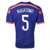 Maillot De Foot Japon 2014 Coupe Du Monde Nagatomo Domicile
