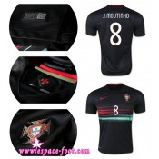 Maillot De Foot - Maillots Portugal J.Moutinho 2015 Game Extérieur Authentique