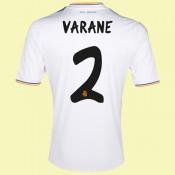 Maillot De Foot Real Madrid (Varane 2) 2014-2015 Domicile Adidas Acheter