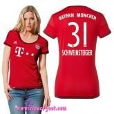 Maillot De Foot Schweinsteiger 2015/2016 Bayern Munich Maillot Foot Schweinsteiger Femme 2015/2016 Game Domicile Nouveau