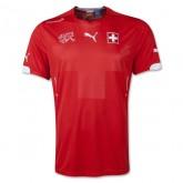 Maillot De Foot Suisse 2014 Coupe Du Monde Domicile Soldes