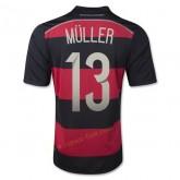 Maillot De Football Allemagne 2014 Coupe Du Monde Muller Exterieur