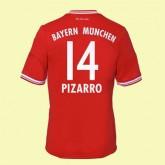 Maillot De Football Bayern Munich (Pizarro 14) 2014-2015 Domicile Adidas