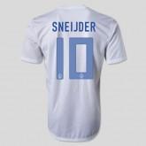 Maillot De Football Hollande (Sneijder 10) 2015/16 Extérieur Nike Paris