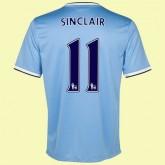 Maillot De Manchester City (Sinclair 11) 2014-2015 Domicile Nike