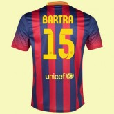 Maillot Du Foot Fc Barcelone (Marc Bartra 15) 2015/16 Domicile Collection