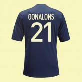 Maillot Du Foot Lyon (Maxime Gonalons 21) 2014-2015 3rd Adidas Fashion Show