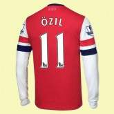 Maillot Du Foot Manches Longues Arsenal (Ozil 11) 2014 2015 Domicile