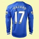 Maillot Du Foot Manches Longues Chelsea (Hazard 17) 2014-2015 Domicile Adidas Personnalisable France Site Officiel