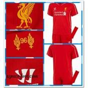 Maillot Enfant Kits Liverpool 2014 2015 Domicile Boutique France