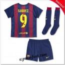 Maillot Fc Barcelone (Suarez 9) Enfant Trousse 2014 15 Domicile Vente Privee